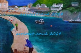 art of devon, cornish art