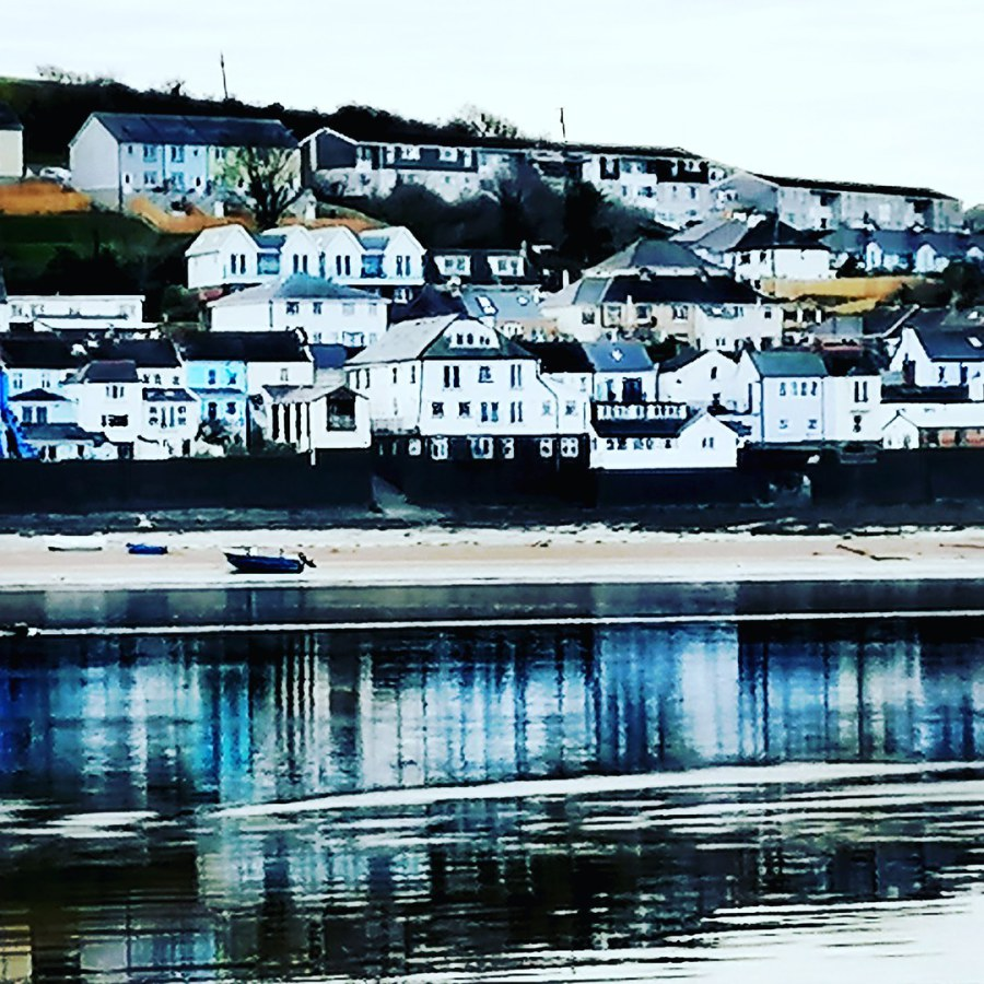 Appledore from the estuary.