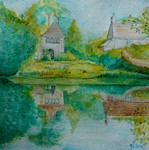 Art cards of Great Chalfield Manor, greeting cards, cards, Wiltshire,