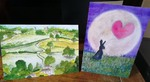 art cards, paintings, photographs, assorted art cards, original art cards,