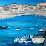St Ives, painting, art cards, Cornish paintings, Cornwall