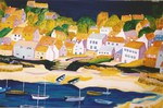 Mousehole, painting, art cards, Cornish paintings, Cornwall